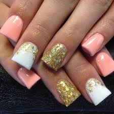 25 best gold tip nails ideas on pinterest gold french tip