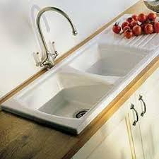 Sonnet Ceramic Sink Double Bowl Single Drainer For Minimum Mm - Kitchen sink double bowl double drainer