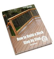 buy how to build a deck step by step diy renovation guides book
