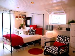 black and red bedroom design decoration white room decor