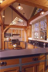 Timber Frame Home Interiors Custom Timber Frame Homes