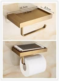 antique new design brass bathroom toilet roll holder paper holder