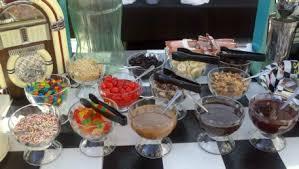 sundae bar toppings fifty s toppings