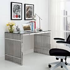 Stainless Steel Office Desk Gridiron Stainless Steel Office Desk