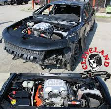 hellcat engine block worlds first hellcat turnkey engines cleveland power u0026 performance