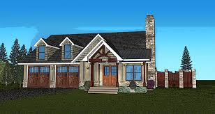 one story cabin plans small single story house plan fireside cottage