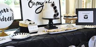 graduation decorating ideas kara s party ideas black white gold graduation party kara s