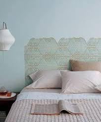 Faux Headboard Ideas by Diy Wallpaper Headboard This Will Be A Fund Project For Our Room