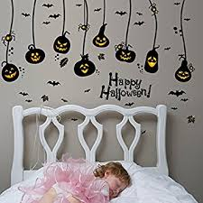 Wall Stickers For Kids Rooms by Amazon Com Happy Halloween Diy Wall Decals Wall Stickers Indoor