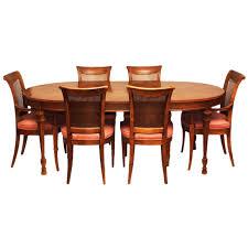 drexel dining room chairs vintage drexel hepplewhite dining or game table u0026 6 chairs set
