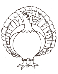 turkey feet outline clipart finders