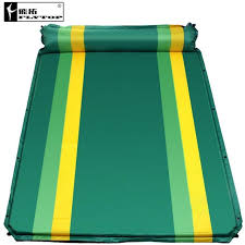 si e auto gonflable flytop cing plage tapis 2 personne gonflable matelas 1 personne