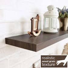Floating Wooden Shelves by Floating Shelves Brown Shelves U0026 Shelf Brackets Storage