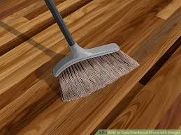 Best Way To Clean Hardwood Floors Vinegar 3 Ways To Clean Hardwood Floors With Vinegar Wikihow