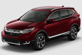 New Honda Crv Colors 2018