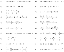 linear equations and inequalities exercise 2
