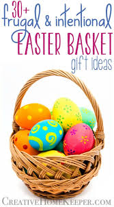 easter basket fillers frugal and intentional easter basket gift ideas creative home keeper