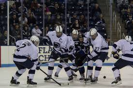 bentley college hockey penn state hockey 2015 season report card onward state