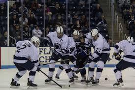 bentley college hockey penn state hockey 2015 season report card onward state