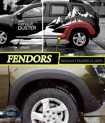 renault cars duster wheel arch for dacia renault duster 2015 2017 extensions fendors 1