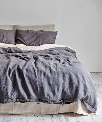 charcoal linen duvet set http www huntingforgeorge com in