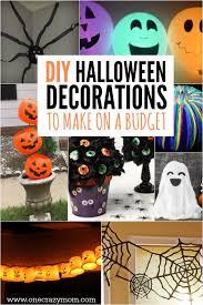 Diy Decorating On A Budget Diy Halloween Decoration Ideas 25 Budget Friendly Ideas