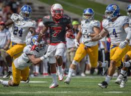 lobo football holds on tops san jose state albuquerque journal