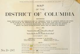 Washington Dc On Map District Of Columbia Maps Perry Castañeda Map Collection Ut