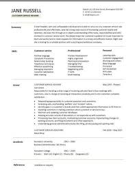 customer service resume customer service resume skills sle resume cover letter for