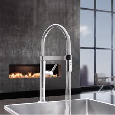 restaurant style kitchen faucet premier k spd01 spring pull down commercial kitchen faucet at