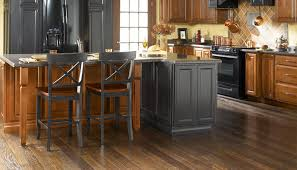 wood flooring that goes well with honey oak cabinets for the