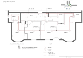 electrical and telecom plan software create circuit wiring