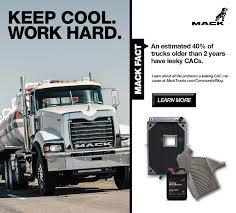 mack truck dealers charge air cooler partner mack