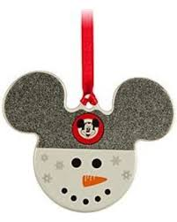 savings on mickey icon ornament snowman official