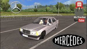ets2 v1 27 mercedes 190e ets2 youtube