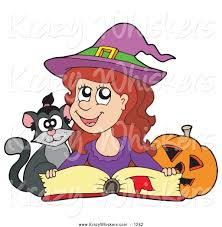 halloween reading clipart clipartxtras