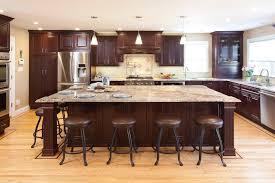 light granite countertops with dark cabinets dark cabinets light granite kitchen traditional with beige granite
