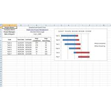 Excel 2010 Gantt Chart Template Free Microsoft Excel Project Management Templates And Tutorials