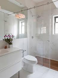 No Shower Door No Door Shower Houzz