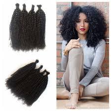 Curly Hair Braid Extensions by Wholesale Malaysian Human Braiding Hair Bulk Curly 8 30 Inch