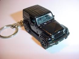 jeep wrangler custom black 3d jeep wrangler custom keychain by brian thornton keyring key