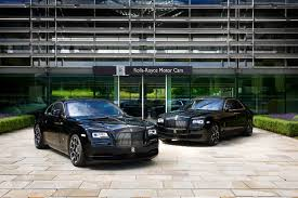 custom rolls royce ghost rolls royce reveals wraith black badge and ghost black badge in
