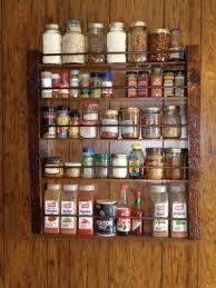 Spice Rack Pantry Door Large Spice Rack Foter