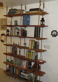 hanging bookshelves sculpture of unique hanging bookshelves wall that worth to own