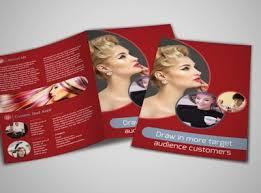 fancy brochure templates fancy hair salon brochure template mycreativeshop
