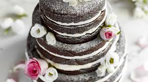 three tier chocolate wedding cake baking mad