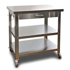 kitchen island cart with stainless steel top kitchen carts kitchen islands work tables and butcher blocks