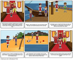 christopher columbus storyboard by sgarland