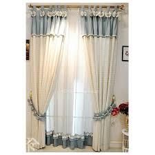 Nautical Window Curtains Nautical Style Plaid Custom Curtains And Window Treatments For Bedroom