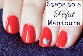 how to get a perfect manicure embracing beauty